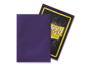 Dragon Shield Card Sleeves: Standard Purple (63x88mm) - 100 stuks