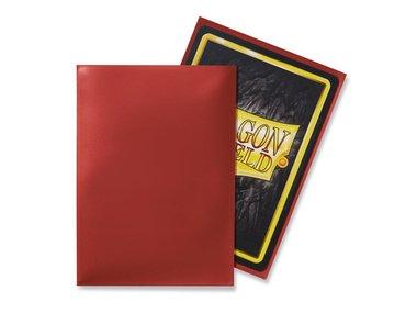 Dragon Shield Card Sleeves: Standard Red (63x88mm) - 100 stuks