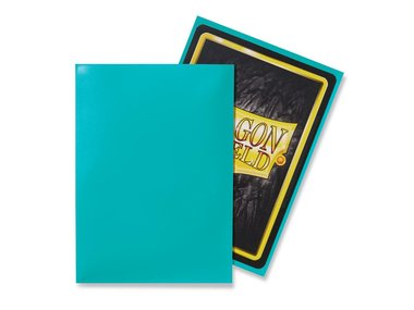 Dragon Shield Card Sleeves: Standard Turquoise (63x88mm) - 100 stuks
