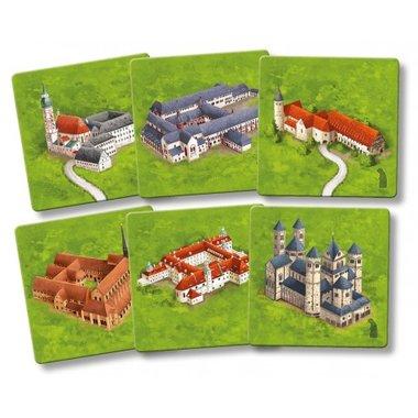 Mini-Uitbreiding Carcassonne: German Cathedrals