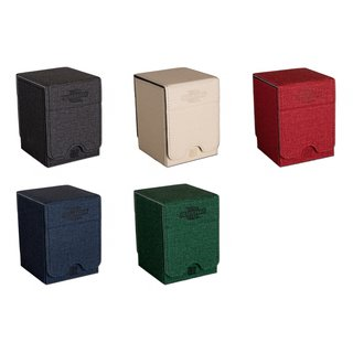 Blackfire Convertible Premium Deck Box - Single Vertical 100+ Standard Size Cards (5 verschillende kleuren te kiezen)