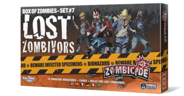 Zombicide Box of Zombies Set 7: Lost Zombivors
