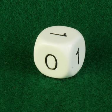 Dobbelsteen 0-1