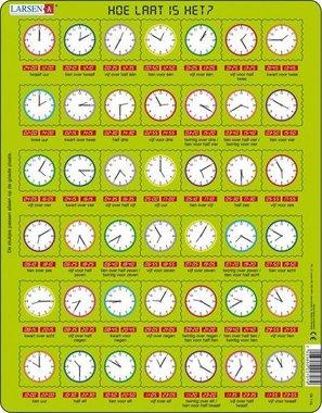 Puzzel LARSEN: Hoe laat is het?