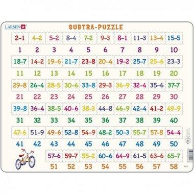 Puzzel LARSEN: Aftrekken (58)