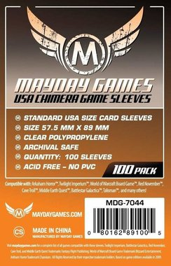 Mayday Card Sleeves: Chimera USA (57,5x89mm) - 100 stuks
