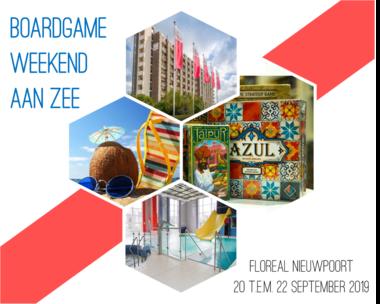 Boardgameweekend aan Zee (2019): Appartement met 1 slaapkamer (4+1 personen)