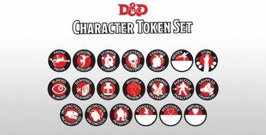 Dungeons & Dragons: Character Token Set