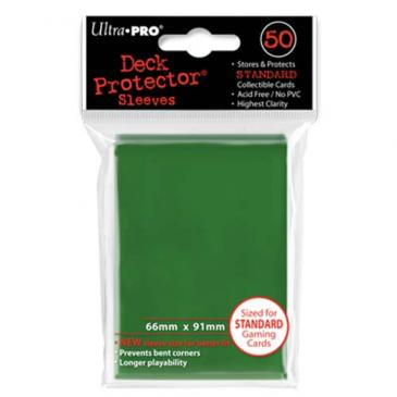 Ultra Pro Board Game Sleeves: Standard Green (66x91mm) - 50 stuks