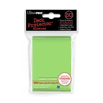 Ultra Pro Board Game Sleeves: Standard Lime Green (66x91mm) - 50 stuks