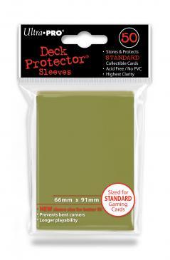 Ultra Pro Board Game Sleeves: Standard Metallic Gold (66x91mm) - 50 stuks