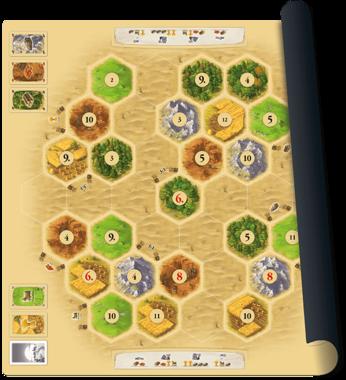 De Kolonisten van Catan: Playmat (Desert)