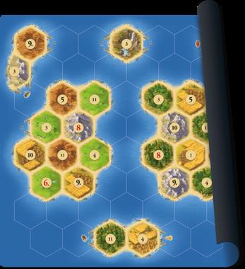 De Kolonisten van Catan: Playmat (Islands)