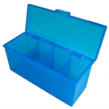 4 Compartment Storage Box (Blue)