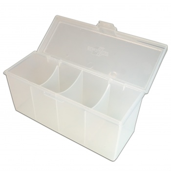 4 Compartment Storage Box (Clear)