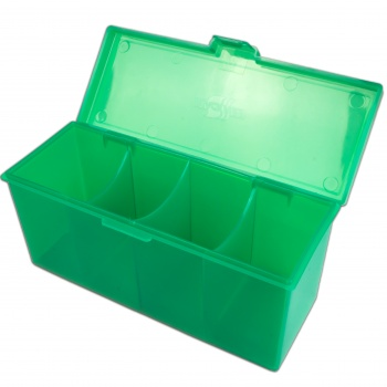 4 Compartment Storage Box (Green)