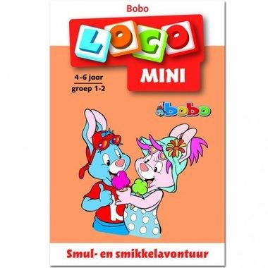 Mini Loco - Bobo: Smul- en Smikkelavontuur (4-6 jaar)