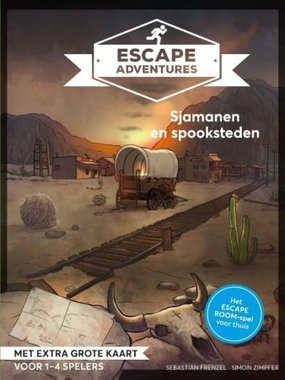 Escape Adventures: Sjamanen en Spookstadjes