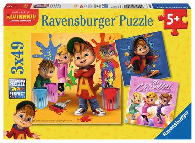 Alvin en de Chipmunks - Puzzel (3x49)
