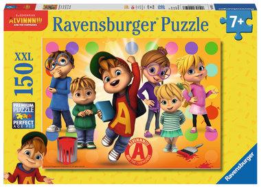 Alvin en z'n vrienden  - Puzzel (150XXL)