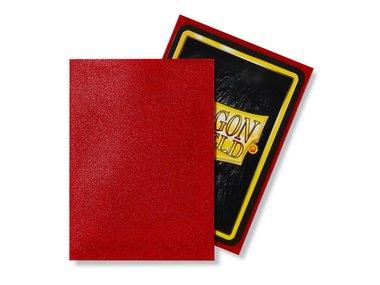 Dragon Shield Card Sleeves: Standard Matte Ruby (63x88mm) - 100 stuks