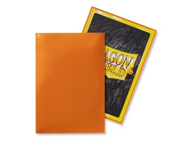 Dragon Shield Card Sleeves: Japanese Classic Orange (59x86mm) - 60 stuks
