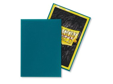 Dragon Shield Card Sleeves: Japanese Matte Petrol (59x86mm) - 60 stuks