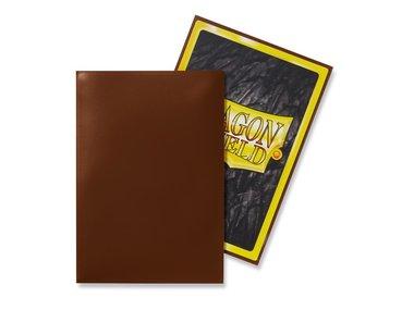 Dragon Shield Card Sleeves: Japanese/Mini Brown (59x86mm) - 50 stuks