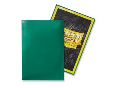 Dragon Shield Card Sleeves: Japanese/Mini Green (59x86mm) - 50 stuks
