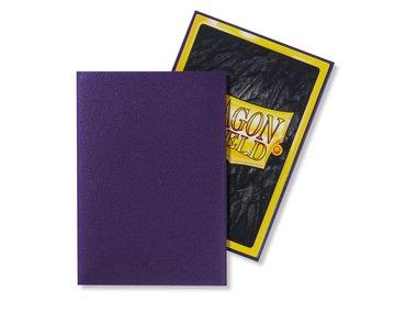Dragon Shield Card Sleeves: Japanese Matte Purple (59x86mm) - 60 stuks