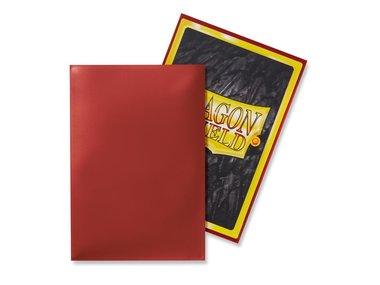 Dragon Shield Card Sleeves: Japanese/Mini Red (59x86mm) - 50 stuks