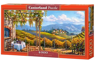 Vineyard Village - Puzzle (4000)