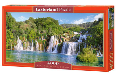 Krka Waterfalls, Croatia (4000)