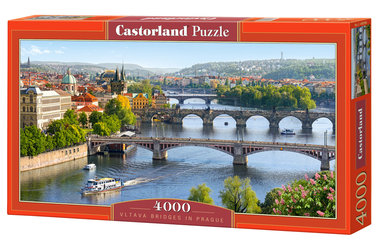 Vltava Bridges in Prague - Puzzle (4000)