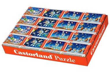 Display met 32 Mini Puzzels: Ruimte (54)