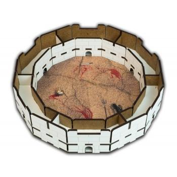 Blackfire Dice Tray: Colosseum