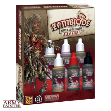 Warpaints Zombicide Green Horde Set (The Army Painter)