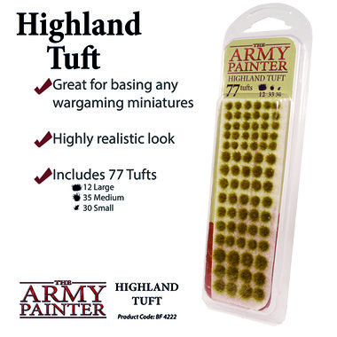 Battlefields: Highland Tuft (The Army Painter)