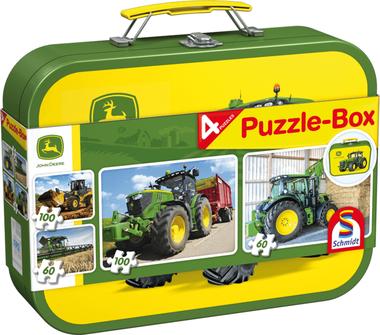 John Deere - Puzzelbox (2x60 & 2x100)