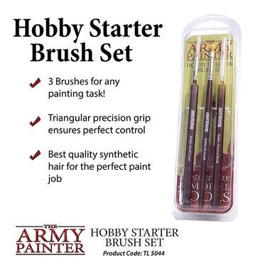 Hobby Brush Starter Set (The Army Painter)