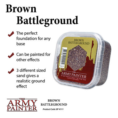 Basing: Brown Battleground (The Army Painter)