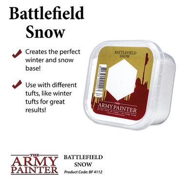 Basing: Snow (The Army Painter)
