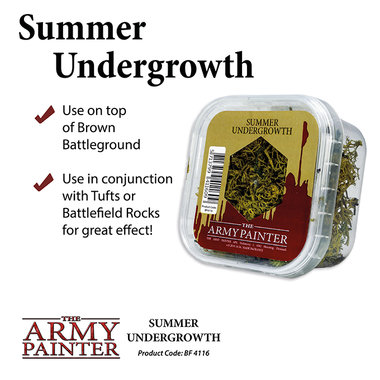 Basing: Summer Undergrowth (The Army Painter)