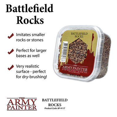 Basing: Battlefield Rocks (The Army Painter)