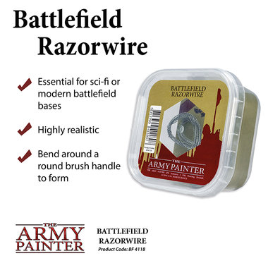 Basing: Battlefield Razorwire (The Army Painter)