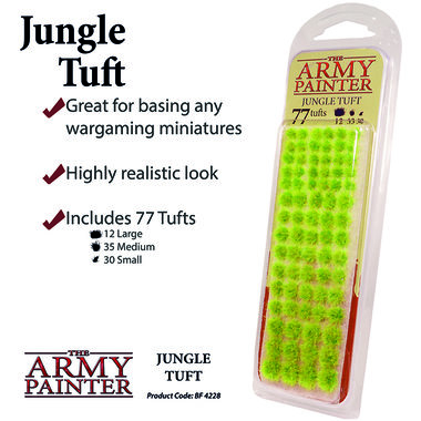 Battlefields: Jungle Tuft (The Army Painter)