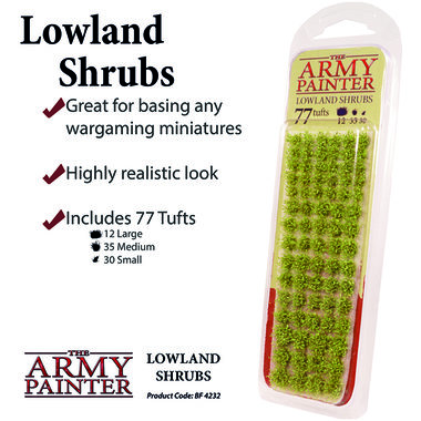 Battlefields: Lowland Shrubs (The Army Painter)