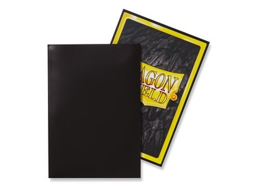 Dragon Shield Card Sleeves: Japanese Classic Black (59x86mm) - 60 stuks