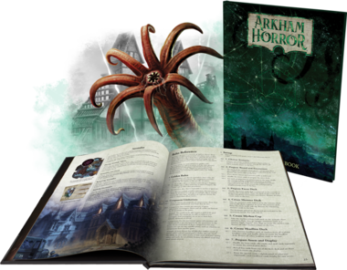 Arkham Horror (3rd Edition): Deluxe Rulebook