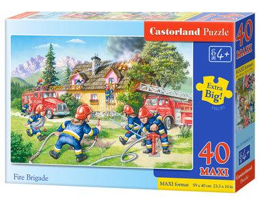 Brandweer - Puzzel (40MAXI)